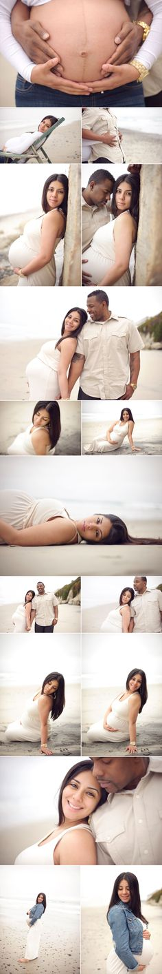 Love the poses. Sunrise beach maternity session, www.tinaboyd.co