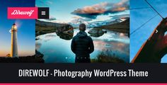DIREWOLF - Photography Portfolio WordPress Theme