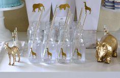 Wendy's Golden Safari Baby Shower | CatchMyParty.com