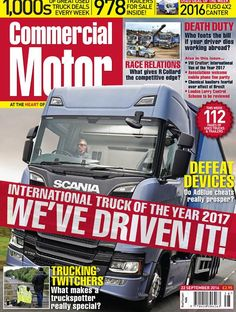 22 September 2016 ► We've driven the International Truck of the Year 2017 - hear our thoughts on the new Scanias ► Associations welcome mobile phone fine parity ► Chemical hauliers fearful over effect of Brexit ► Rob Collard of R Collard on being an MD and a truck driver