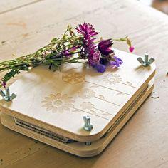 Flower Press - A lovely gift for pressing flowers