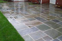 Best Natural Stone Patio Design Ideas Flagstone Patio, Small Backyard Patio GreenScapes Landscaping and . Patio Tiles, Cement Patio, Concrete Pavers, Stamped Concrete, Concrete Wall, Paver Sand, Stain Concrete, Gravel Patio, Painting Concrete