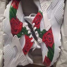 Rosed White Huarache