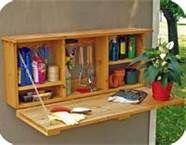 """Organize Your work shed - (Bing Images). This would be great for the back """"garden area"""" of the shed!"""