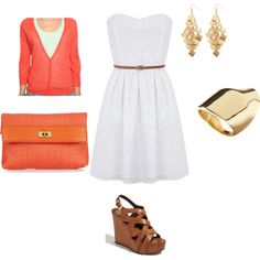 summer date, created by brydieb on Polyvore
