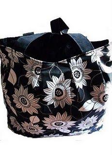 Tutorial - Pleat Top tote bag