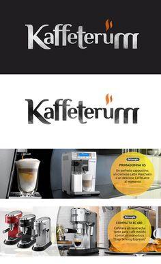 Marca y aplicaciones para tienda online de cafeteras de alta gama