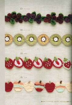 Crochet Knitting Handicraft: Mini Crochet