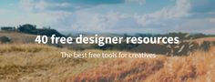 a list of great resources including sites, PSD. files, actions, UI elements, mock ups, et cetera.