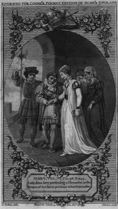 Lady Jane Grey presenting a Memorial to the Keeper of the Tower previous to her Execution. Lady Jane Grey, Jane Gray, Mystery Show, Anne Boleyn, Her World, Fine Art Prints, Canvas Prints, Photo Wall Art, Poster Size Prints