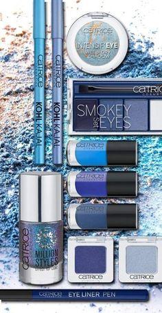 Catrice blue shades