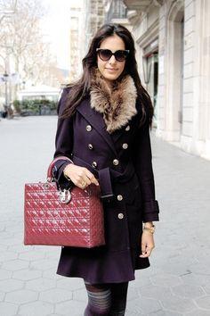 Love the purse.