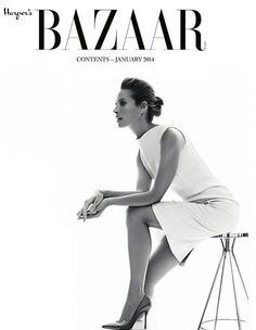 Harper's Bazaar UK January 2014
