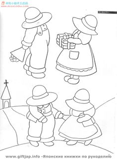 Bess and Billy Pattern Book