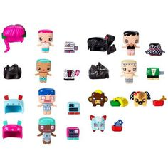 My Mini MixieQ's Assortment, Multicolor My Mini Mixieqs, Packing, My Style, Kids, Walmart, Gift Ideas, Baby Dolls, Princesses, Hipster Stuff