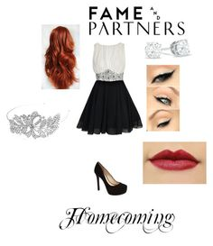 """""""homecoming fame and partners contest"""" by doxingurl ❤ liked on Polyvore featuring Boohoo, INDIE HAIR, Jessica Simpson and Bling Jewelry"""