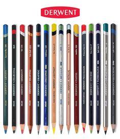 Derwent-Pencil-Range Pastel Pencils, Watercolor Pencils, Colored Pencils, 2 Pencil, Pencil Drawings, Derwent Pencils, Wooden Pencils, Artist Pencils
