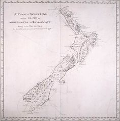 Early James Cook Print Of The New Zealand -