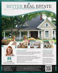 Real Estate Flyer | Real estate flyers and Real estate