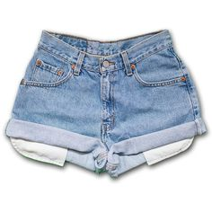 Designer Clothes, Shoes & Bags for Women Boys White Jeans, Blue Jeans, Vintage High Waisted Shorts, Vintage Shorts, Waisted Denim, Vintage Denim, Levis Short, Short Jeans, Short Shorts