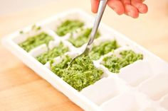 How to Make Thai Green Curry Cubes | Great way to save some of that ...