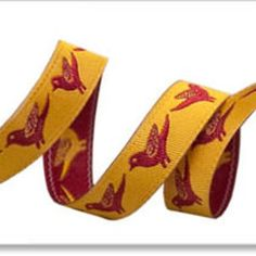 Tiny Birds in Burgundy and Gold (Sue Spargo - Sue Spargo Ribbons)