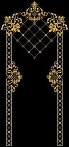 This Pin was discovered by AYN Embroidery Patterns Free, Gold Embroidery, Lace Patterns, Cross Stitch Embroidery, Machine Embroidery, Embroidery Designs, Cross Stitch Borders, Cross Stitch Designs, Cross Stitching