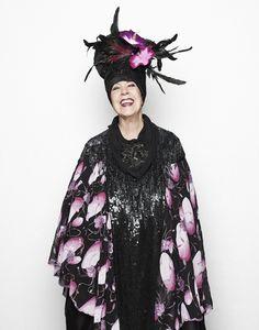 Molly Parkin being fabulous