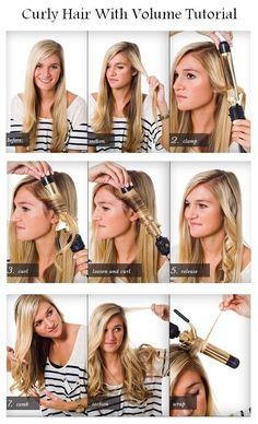 Comment faire des boucles de cheveux ?