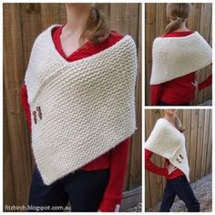 Beautiful loom knit wrap. Great for beginners and there's even a link to video tutorial.