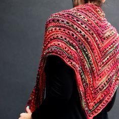 A shawl designed for beginner knitters who want to take their skills to the next level. Includes link to Free pattern and knitting tips.