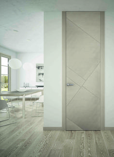 italian wooden doors, italian doors, Senso - Romagnoli - Porte