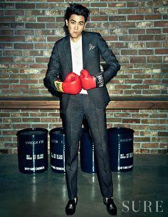 Park Hyungsik (ZE:A) (Sure Magazine)