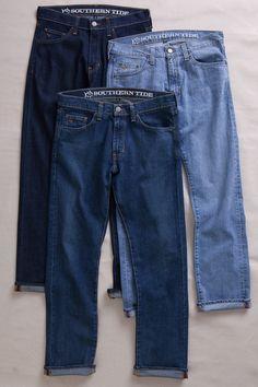 Southern Tide Blue Jeans