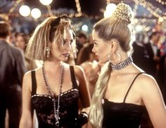 Madonna Twins. Romy and Michele's Highschool Reunion. Movie, film