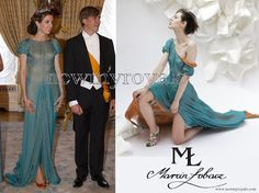 Princess Tessy of Luxembourg - Marcin Lobacz Design