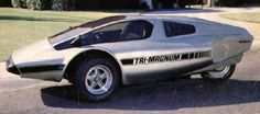 Tri-Magnum, 1983. A kit car three wheeler which uses a...
