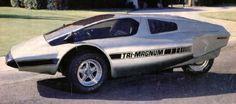 Tri-Magnum, 1983. A kit car three wheeler which uses a...
