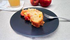 Vegan Plumcake alle pesche, ricetta, dolce, pesca,vegano, plumcake, frutta, ingredienti, vegan, alimentazione, mangiare, cucinare