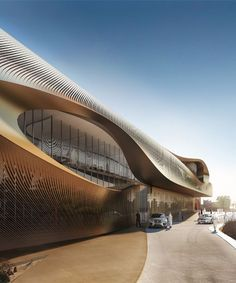 zaha hadid architects to build urban heritage administration centre in saudi arabia #contemporaryarchitecture