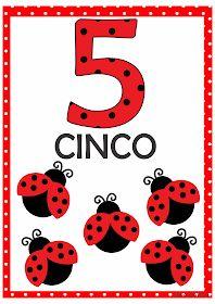 Numerais Joaninha para Imprimir Grátis Preschool Worksheets, Math Activities, Preschool Activities, Ladybug Crafts, Ladybug Party, Flashcards For Kids, Snoopy Love, Bird Theme, Basic Math