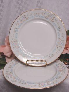 Lenox China Dinnerware Bouquet Collection Daisy Basket set 2 Dinner Plate #Lenox #Lenox