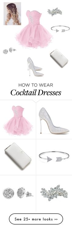 """""""wow"""" by sarsora307 on Polyvore featuring moda, Casadei, Bling Jewelry, H.AZEEM e Kate Spade"""