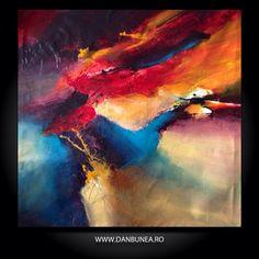 SPACE ODISEY, 150x150cm, by Dan Bunea, living abstract paintings, www.danbunea.ro