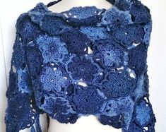 Handmade fibre and textile jewelry and by CraftAroundTheClock