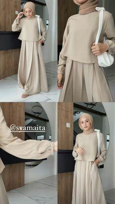 Modern Hijab Fashion, Muslim Fashion, Modest Fashion, Korean Fashion, Casual Hijab Outfit, Casual Outfits, Sixth Form Outfits, Hijab Fashionista, Kpop Fashion Outfits