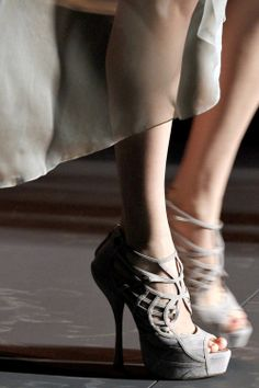 shoes - Dior winter 2011