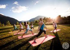 yoga in the morning sun :)