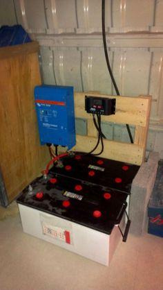 Regulador, baterías