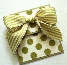 Polka Dot Gift Card Holder